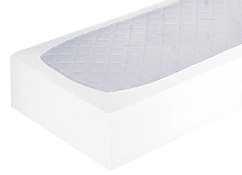 Spannbettlaken 100x200 cm, Steghöhe 30 cm, weiß