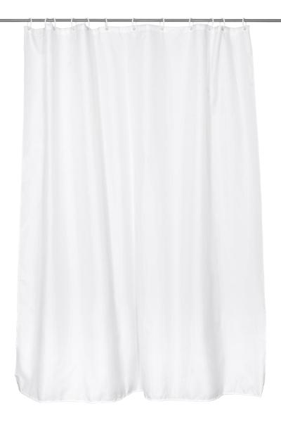 Duschvorhang, 100 % Polyester, ca. 180x200 cm, versch. Farben