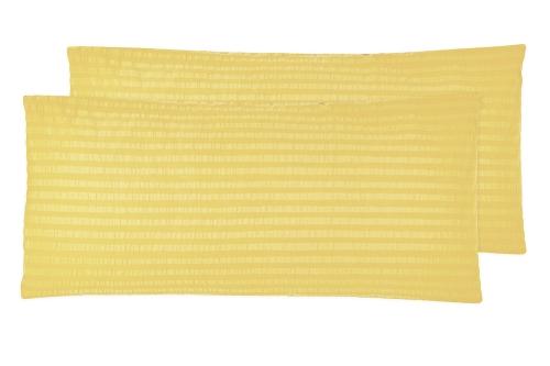 Kissenbezug (2er-Set), 40x80 cm, Seersucker, versch. Farben