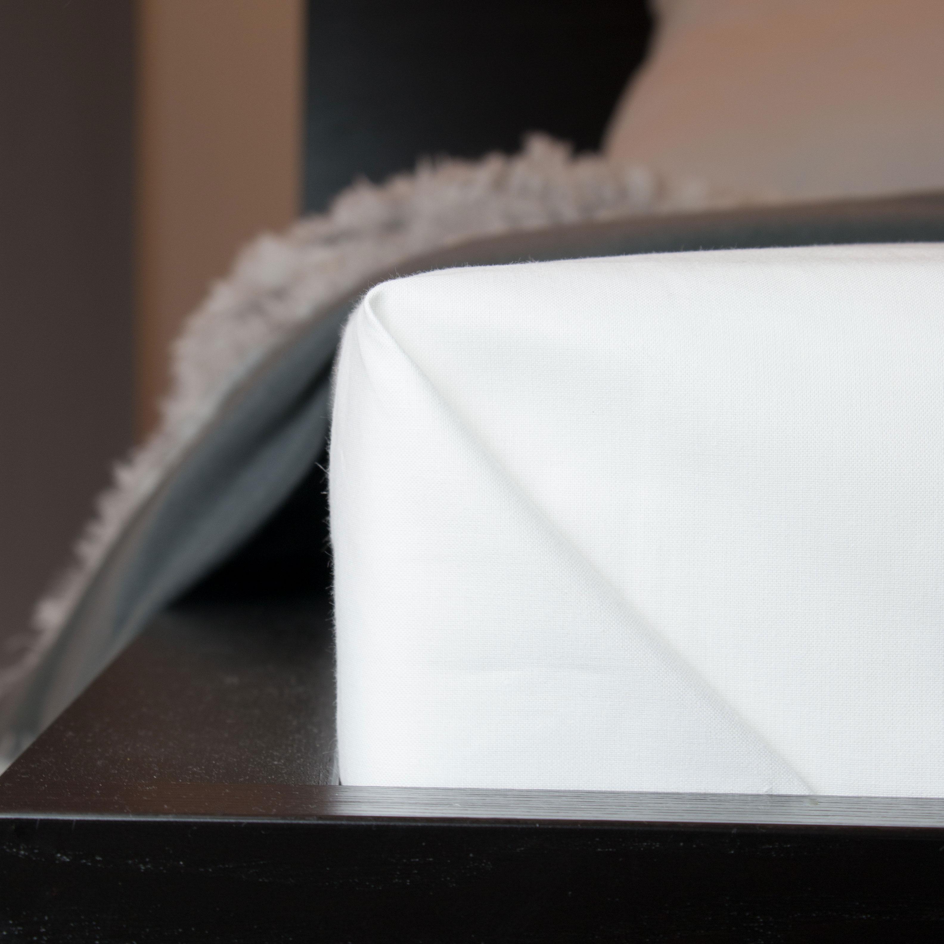 Bettlaken 100 % Baumwolle, 125 g/qm, versch. Größen, weiß