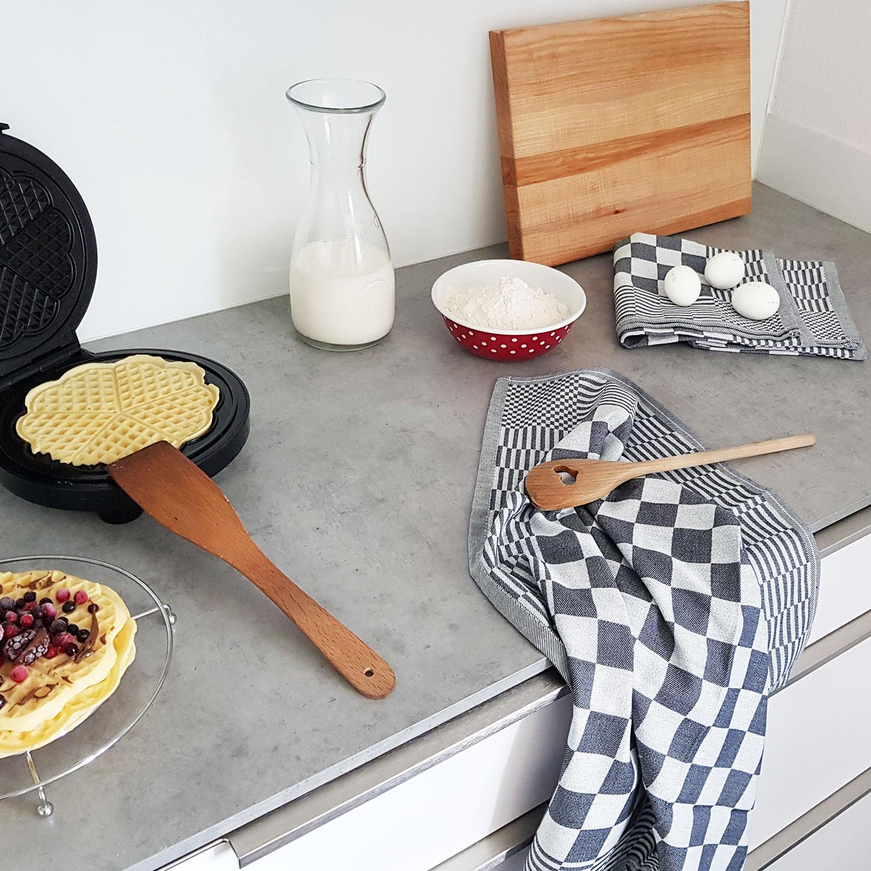 Geschirrtücher (6er-Set), 100% Baumwolle, versch. Farben