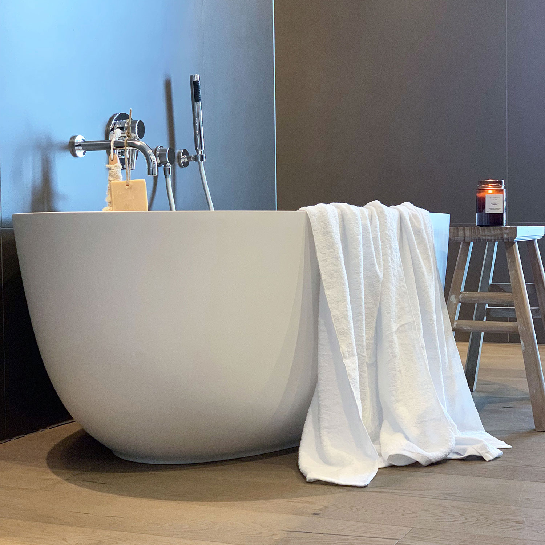 Duschtücher (5er-Set), 80% Baumwolle, 20% Polyester