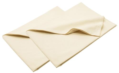 Bettlaken (2er-Set), 100 % Baumwolle, 160x280 cm