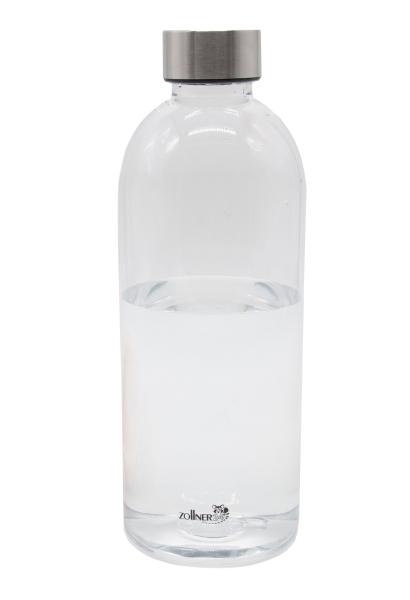 Trinkflasche, durchsichtig, versch. Größen