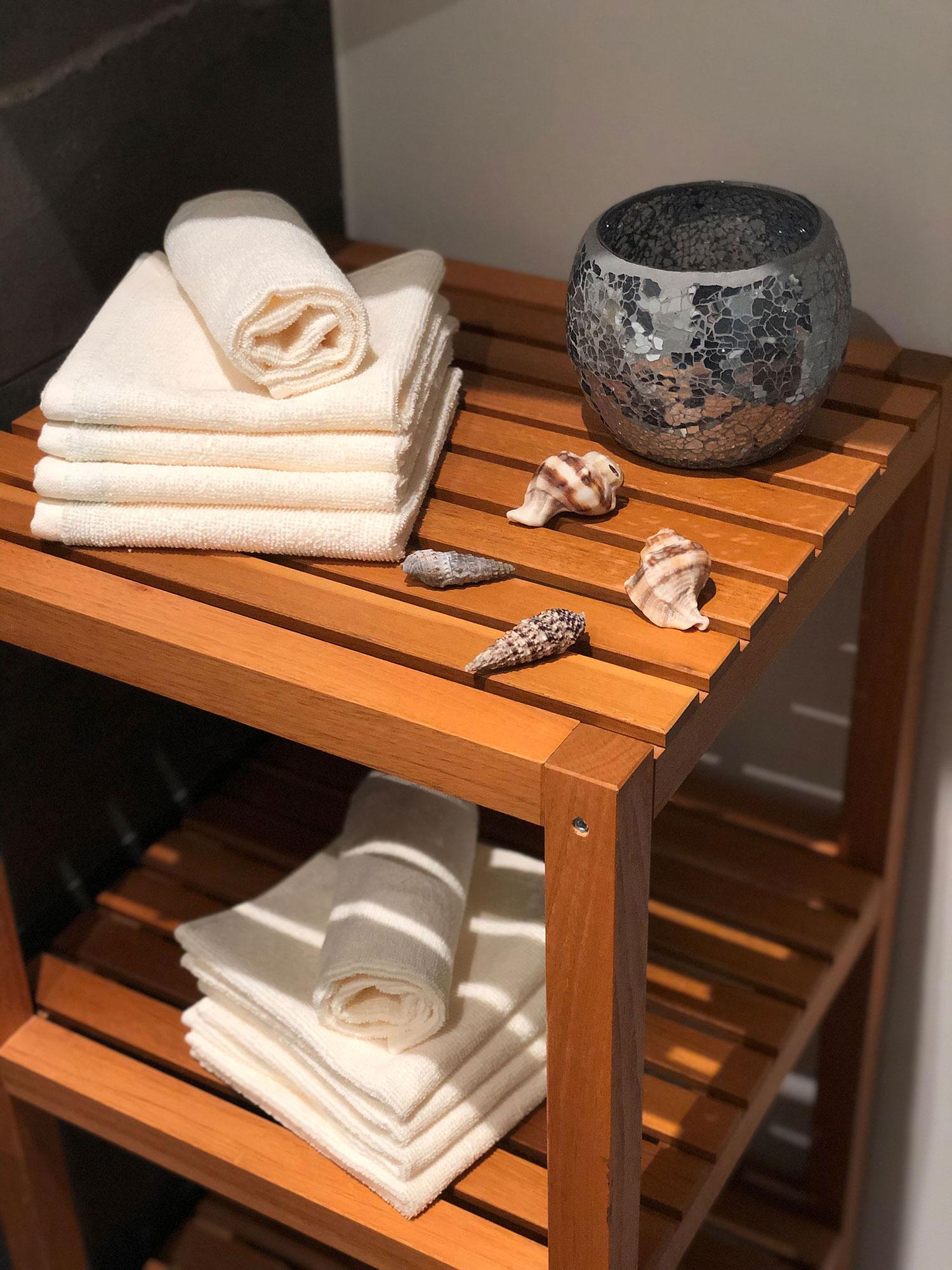 Seiftücher (10er Set), 100% Baumwolle, versch. Farben