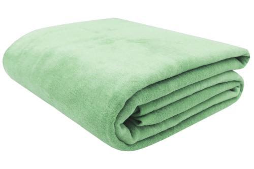 Kuscheldecke, 60% Baumwolle, 40% Polyacryl, versch. Größen