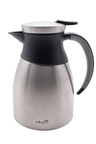 Edelstahl Thermoskanne, ca. 1 Liter