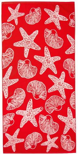 Strandlaken 100% Baumwolle, 90x180 cm, Meerestiere