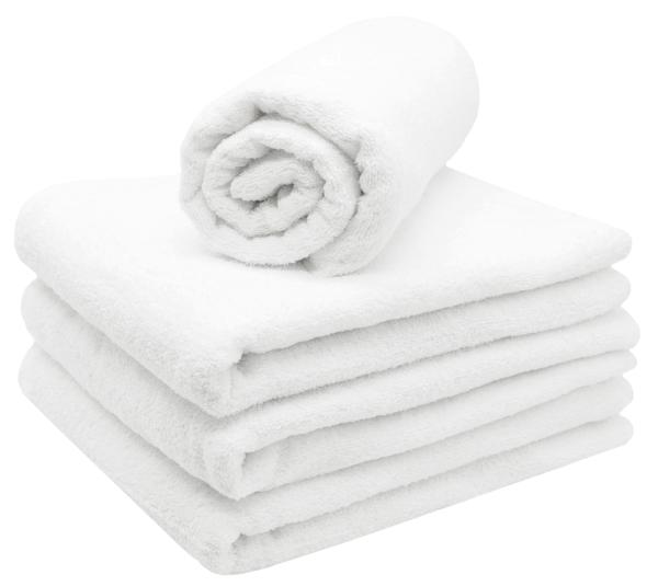 Saunahandtücher (2er/4er-Set), 80% Baumwolle/20% Polyester
