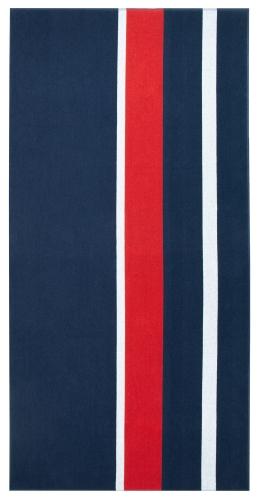 Badetuch/Strandlaken, 100 % Baumwolle, 200x100 cm, gestreift