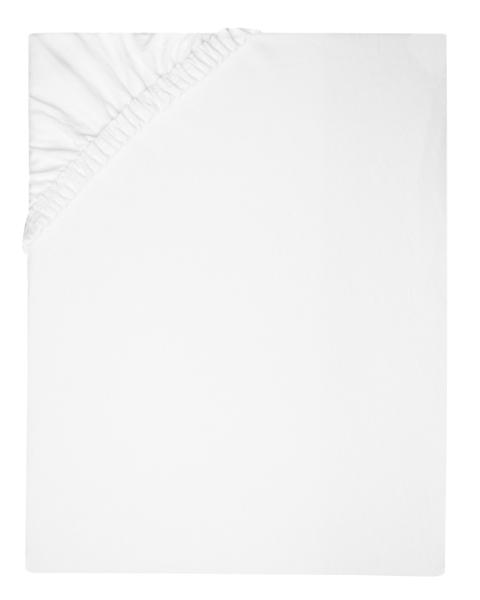 Spannbettlaken 100 % Baumwolle, weiß, versch. Größen