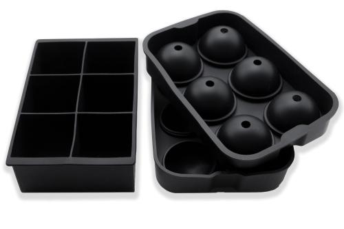 Eiswürfelform, 2er-Set, 100 % Silikon