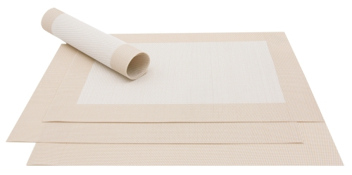 Tischset (4er-Set), ca. 32x47 cm, versch. Farben