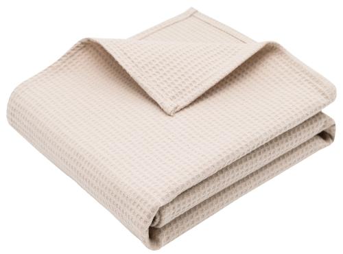 Babydecke 100% Baumwolle, 75x120 cm, versch. Farben