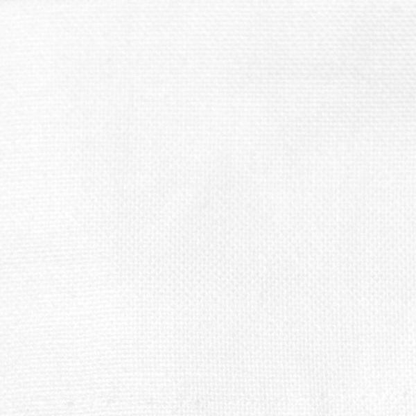 Klassisches Betttuch/Bettlaken aus 100% Baumwolle ohne Gummizug, verfügbar in den Größen ca. 150x260 cm, 180x290 cm und 300x300 cm, weiß