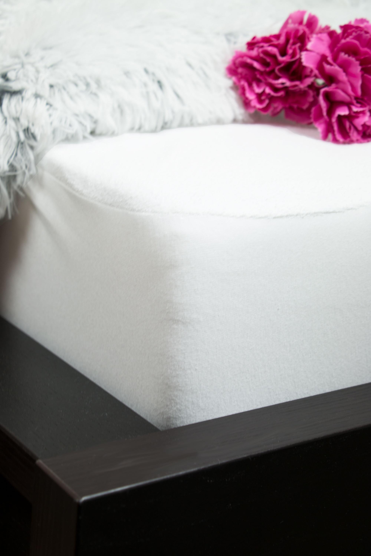 Matratzenauflage wasserundurchlässig, versch. Größen, weiß