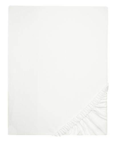 Spannbettlaken 95% Baumwolle, 100x200 cm, weiß