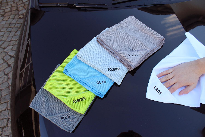 Auto-Reinigungstücher (6er-Set)