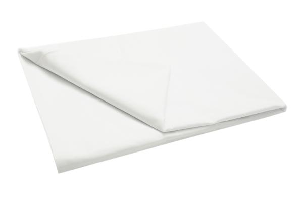 Bettlaken 100 % Baumwolle, 175 g/qm, versch. Größen, weiß