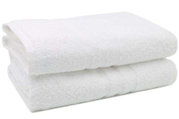 Badetücher (2er-Set), 100 % Baumwolle, ca. 100x150 cm