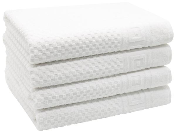 Duschtücher (2er-Set), 70x140 cm, weiß oder anthrazit