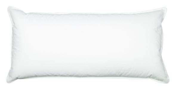 Kopfkissen 100 % Daunen, 40x80 cm oder 80x80 cm, weiß