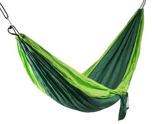 Hängematte, Fallschirmnylon, grün
