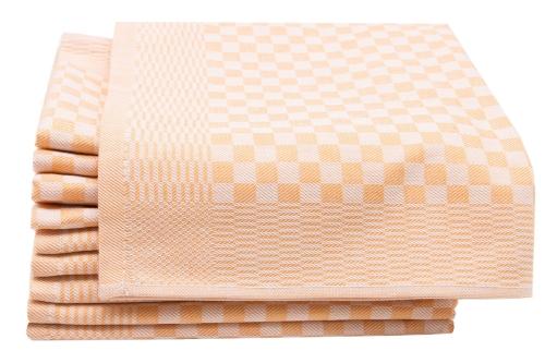 Geschirrtücher (10er-Set), 100% Baumwolle, kariert
