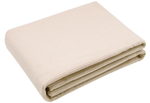 Kuscheldecke 100% Baumwolle, 150x200 cm, versch. Farben