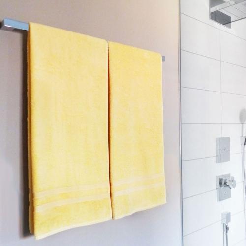 Duschtücher (2er/5er-Set), 100% Baumwolle, 70x140 cm