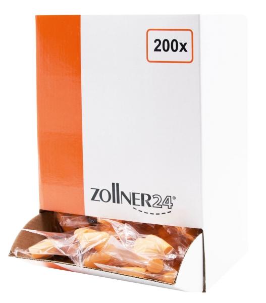 Gehörschutz/Ohrstöpsel, 200 Paar, orange