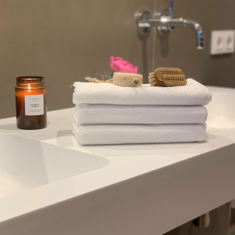 Handtücher (10er-Set), 80% Baumwolle, 20% Polyester