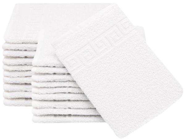Waschlappen (20er-Set) 100% Baumwolle, 16x22 cm, versch. Farben