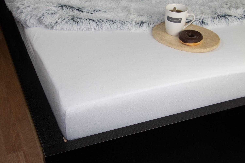 Spannbettlaken 100% Baumwolle, versch. Farben / Größen