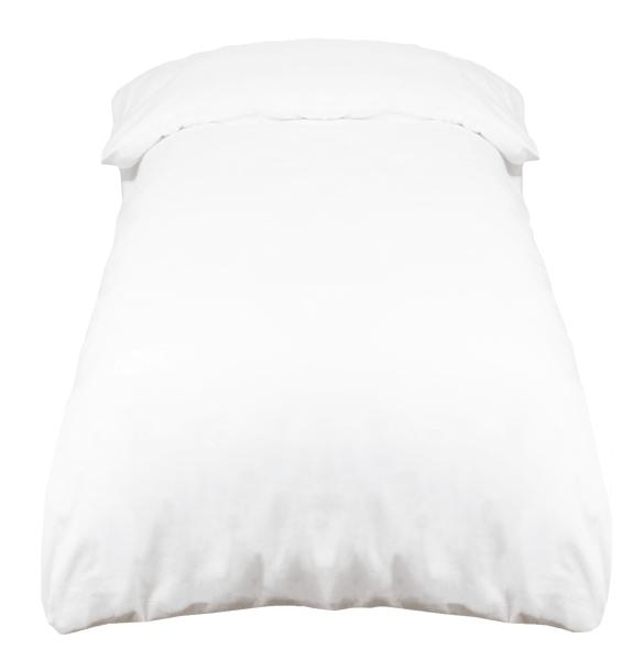 Deckenbezug 100 % Baumwolle, 140x200 cm oder 240x220 cm, weiß