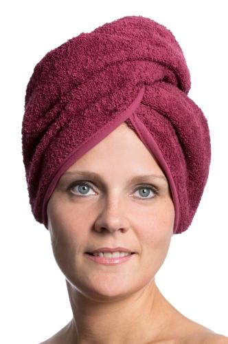Haarturban, versch. Farben, Knopfverschluss