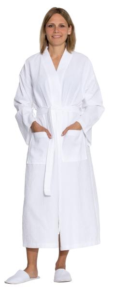Bademantel in Waffeloptik (unisex), 100 % Baumwolle