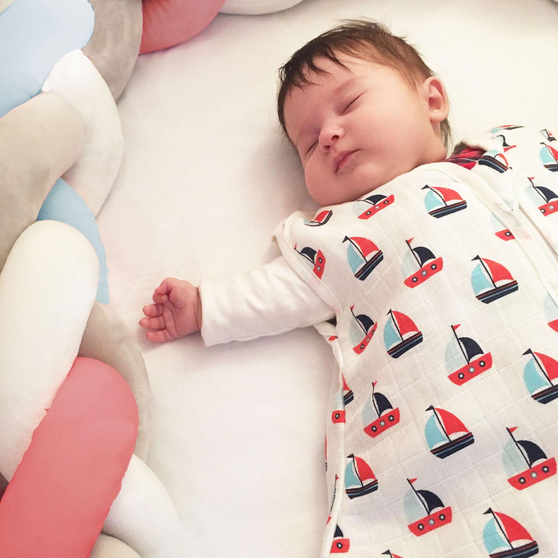 Baby-Sommerschlafsack, 100 % Baumwolle