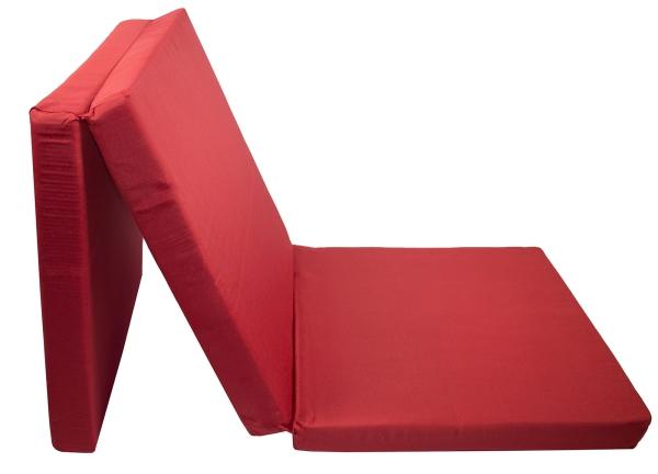 Klappmatratze (3-fach faltbar), 69x195 cm, inkl. Tragetasche