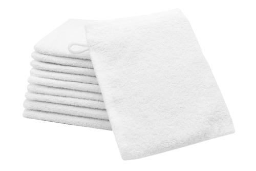 Waschlappen (10er-Set), Baumwolle, versch. Farben