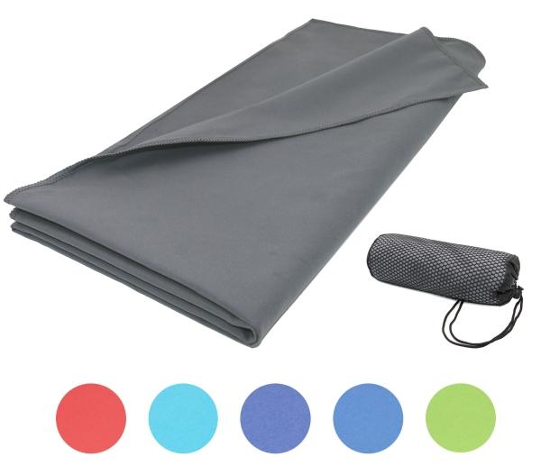 Saugstarkes Mikrofaser-Badetuch/Sporthandtuch aus schnelltrocknender Mikrofaser, Größe ca. 90x180 cm, verfügbar in vielen peppigen Farben