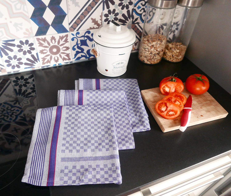 Geschirrtücher (10er-Set), 100% Baumwolle, versch. Farben