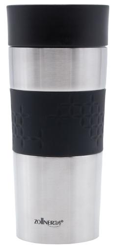 Thermobecher Edelstahl, 360 ml, auslaufsicher