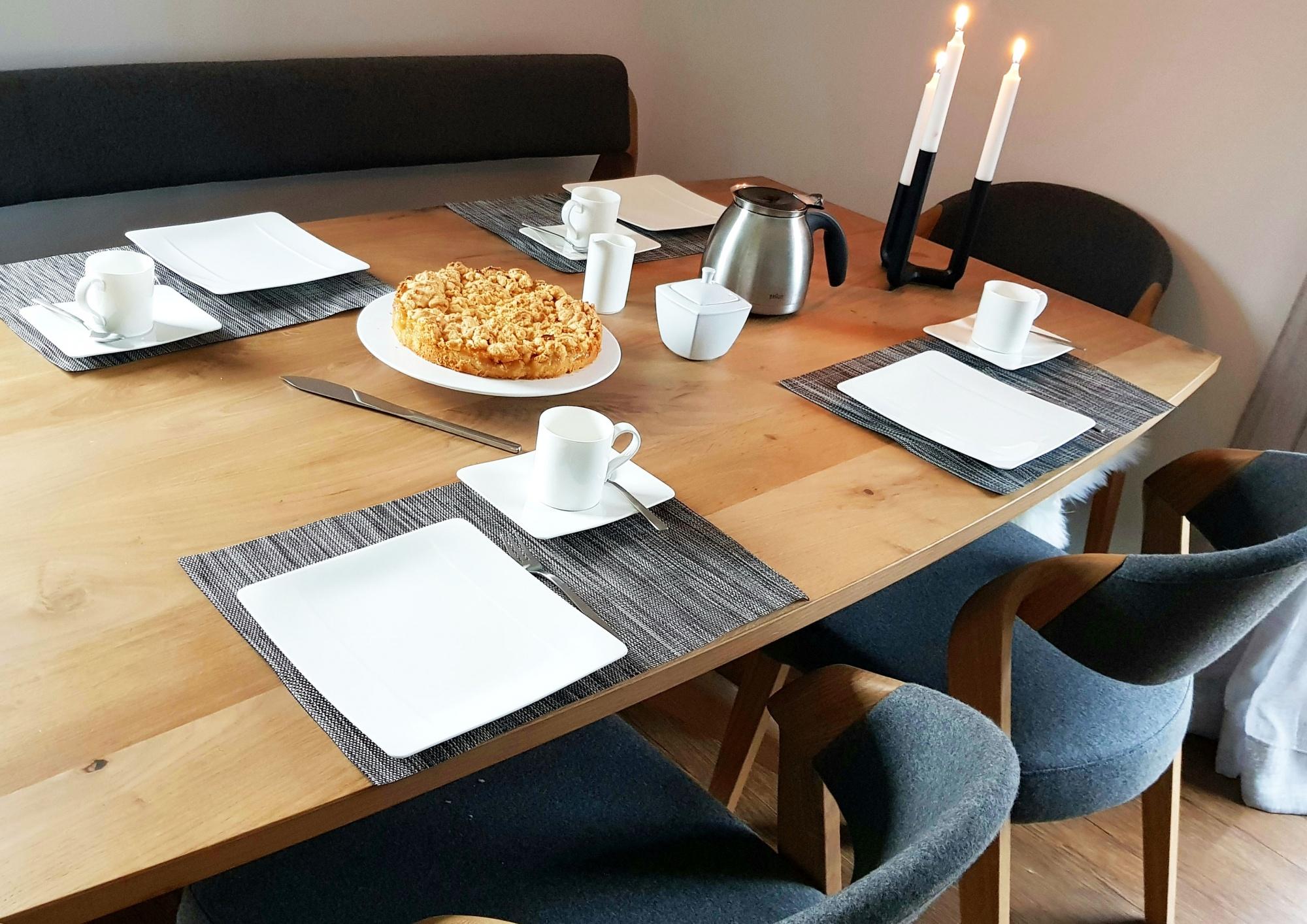 Tischset meliert (4er-Set), ca. 30x45 cm, versch. Farben