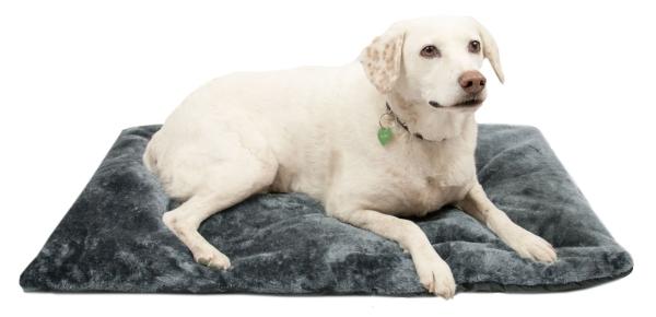Hundedecke faltbar, tragbar, 60x90 cm, dunkelgrau