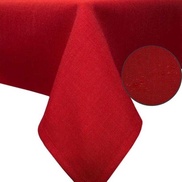 Tischläufer abwischbar, 40x180 cm, versch. Farben mit Leinenstruktur