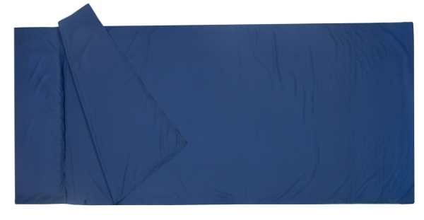 Schlafsack (inkl. Transporttasche), ca. 90x220 cm, blau